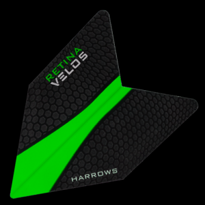 Piórka dart VELOS RETINA GREEN 1008 Harrows