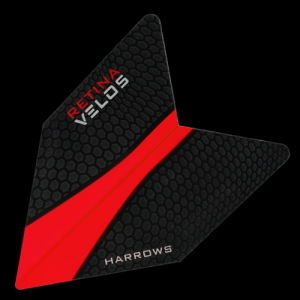 Piórka dart VELOS RETINA RED 1011 Harrows