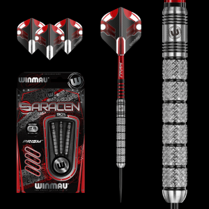 SARACEN A 24 g Winmau lotki do darta steeltip