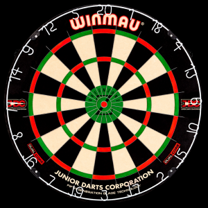 GREEN ZONE Winmau tarcza do darta sizalowa