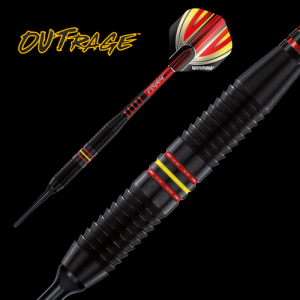 Lotki do darta OUTRAGE B 18 g Winmau softip