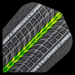 Piórka dart SUPERGRIP GREEN 1703 Harrows