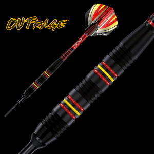 Lotki do darta OUTRAGE A 18 g  Winmau softip