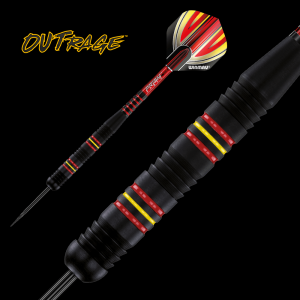 Lotki do darta OUTRAGE A 23 g  Winmau steeltip