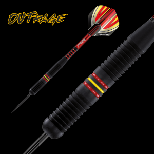Lotki do darta OUTRAGE B 20 g Winmau steeltip