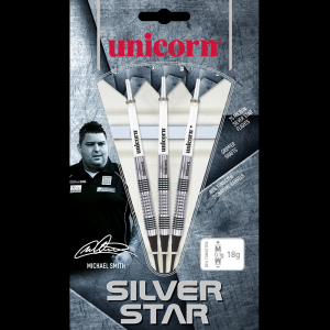 Michael Smith 20 g Silver Star Unicorn lotki dart softip