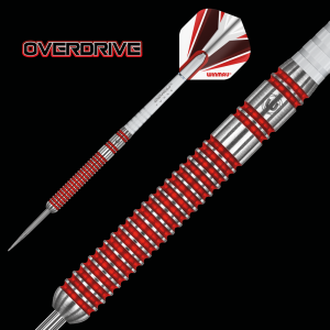 OVERDRIVE 24 g Winmau lotki do darta steeltip