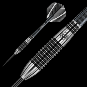 BLACKOUT 26 g Winmau lotki do darta steeltip