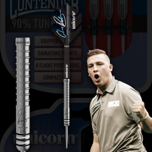 Chris Dobey Contender Unicorn lotki dart steeltip