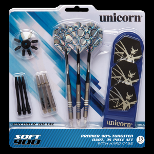 SOFT900 18 g Unicorn lotki dart softip