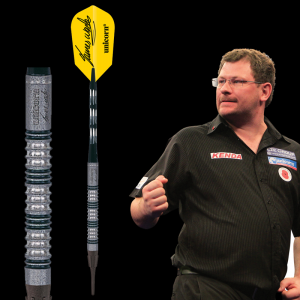 James Wade Phase 2 Maestro Premier Natural Unicorn lotki dart softip